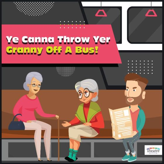 throw granny off a bus