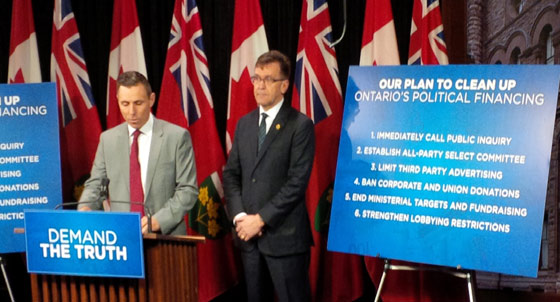 Brown-and-Walker-at-QP-media-avail-about-Fixing-Political-Financing-Mess